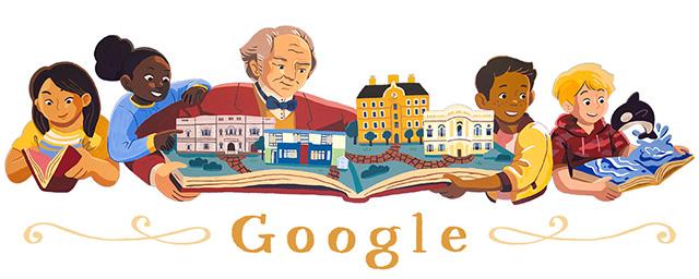 George Peabody Philanthropist Google Logo