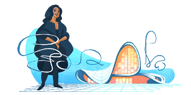 Google honors architect Zaha Hadid with new Doodle