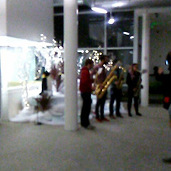 Christmas Carolers At GooglePlex