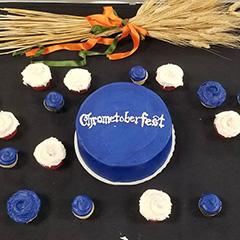 Chrometoberfest Cake