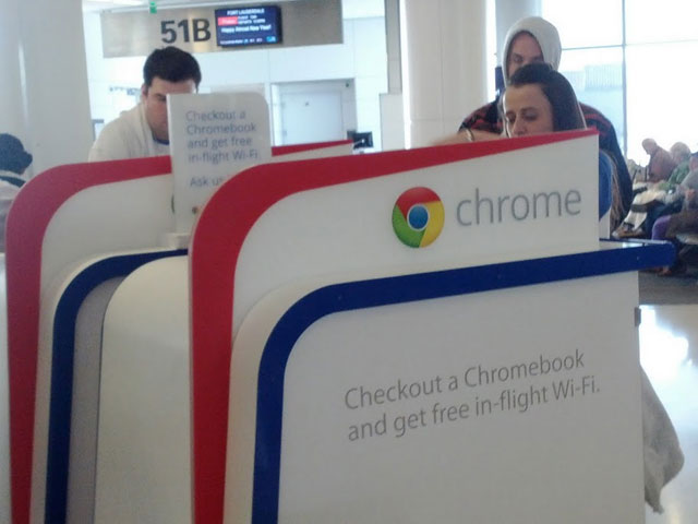 Google's Free Chromebook & Wifi Airline Promotion
