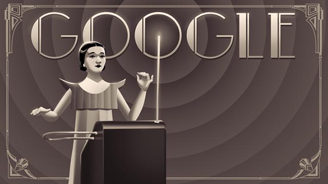Clara Rockmore Google Logo