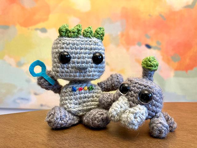 Crochet GoogleBot & Mascot Spider