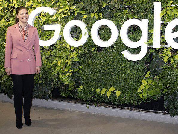 Crown Princess Victoria Of Sweden Visited Google Sweden