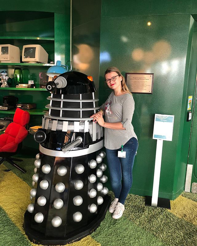 Dalek From Doctor Who At Google London Office