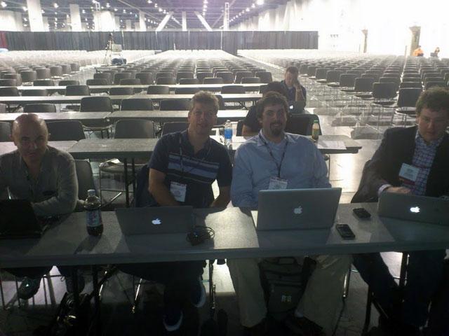Danny Sullivan, Barry Schwartz, Brian Ussery & Steve Boymel at PubCon