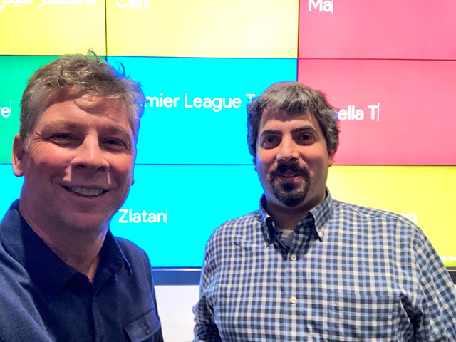Danny Sullivan & Barry Schwartz At Google NYC