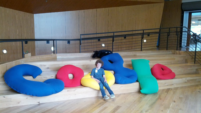 Sullivan Junior Chilling At Google LA