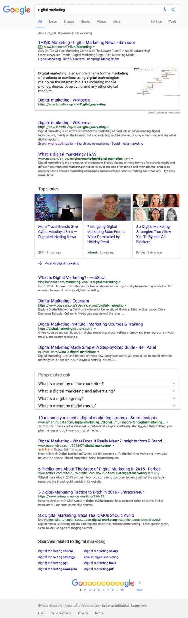 blog google rolling desktop search