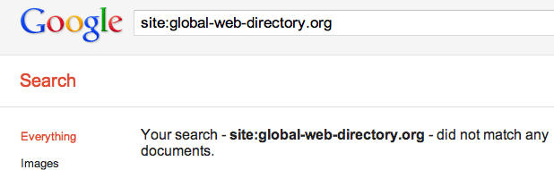 Google Removes Directories