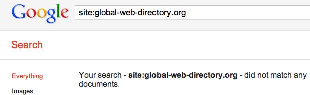 Google Removes Directories