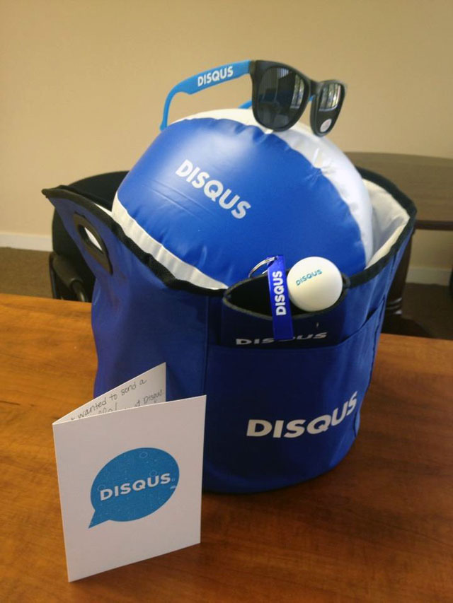 Disqus Summer Swag