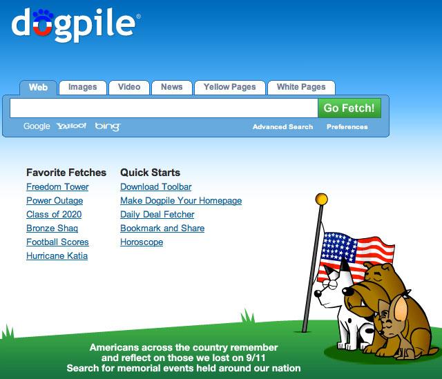 Dogpile 9/11 2011