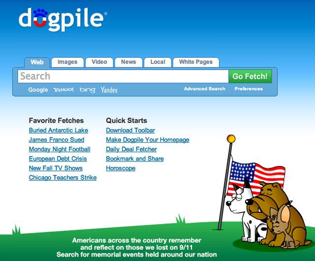 DogPile 9/11/2012