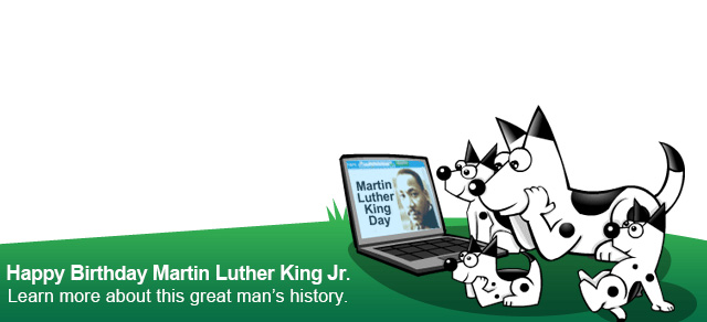 Dogpile Martin Luther King, Jr. Logo
