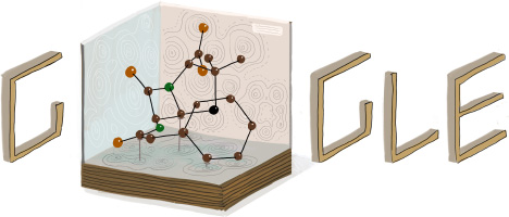 Google Logo For Dorothy Hodgkin