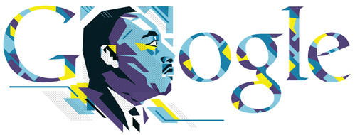 Google Martin Luther King day logo