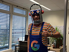 An SEO Dressed Up As GoogleBot