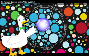 Google Search Filter Bubble - Duck Duck Go