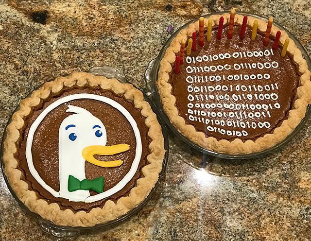 DuckDuckGo Pie