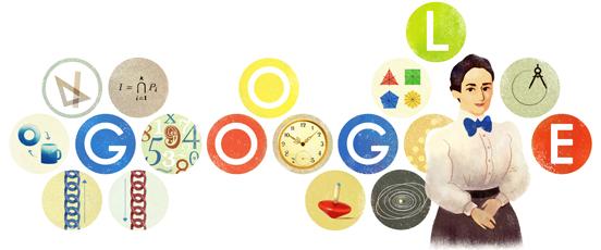 Emmy Noether Google Doodle