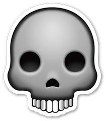 emoji skull