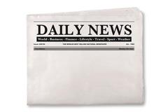 empty newspaper
