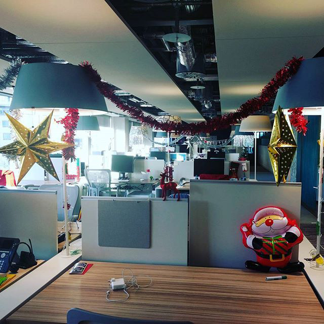 Google Office Empty During Holiday Season