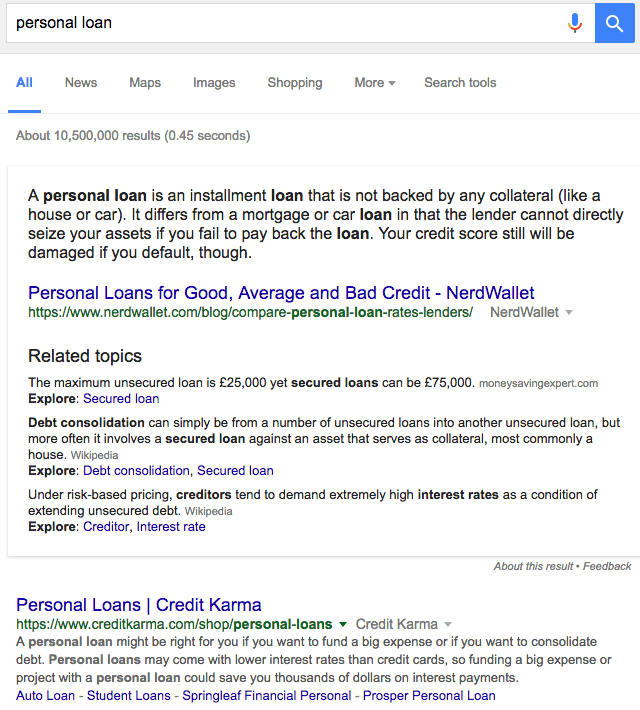 Google Extended Featured Snippets