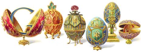 Google Fabergé Egg Doodle