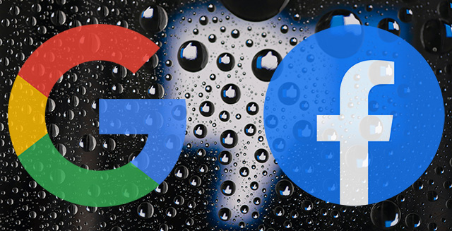 Google and the Facebook Ooutage