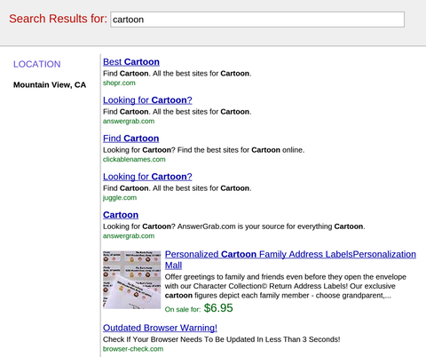 how to get back to google search results
