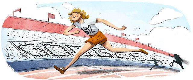 Fanny Blankers-Koen Google Doodle