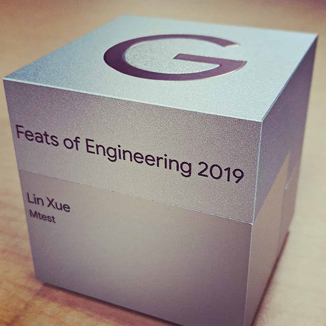 Feats Of Engineering Google Award