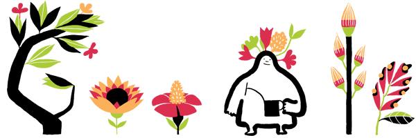 Google Spring Equinox Logo