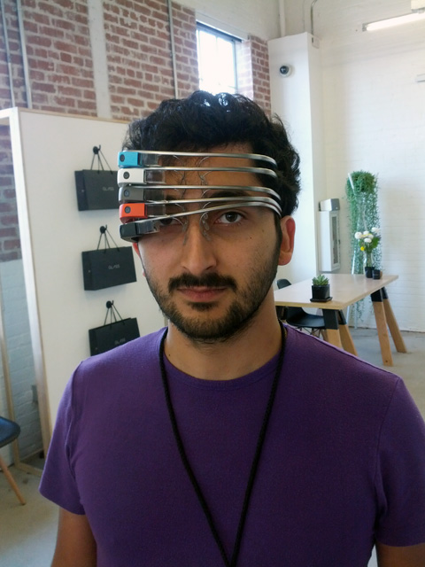 Five Google Glass(es)