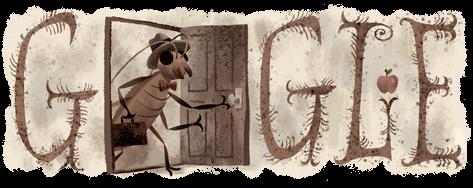 Franz Kafka Google Logo