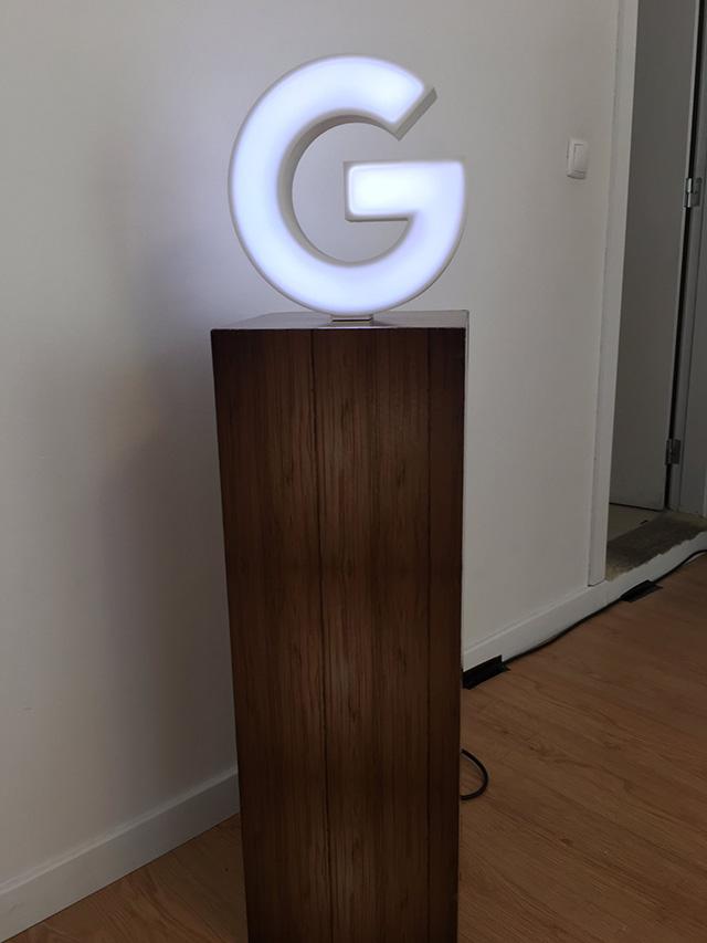 G Logo Light Fixture