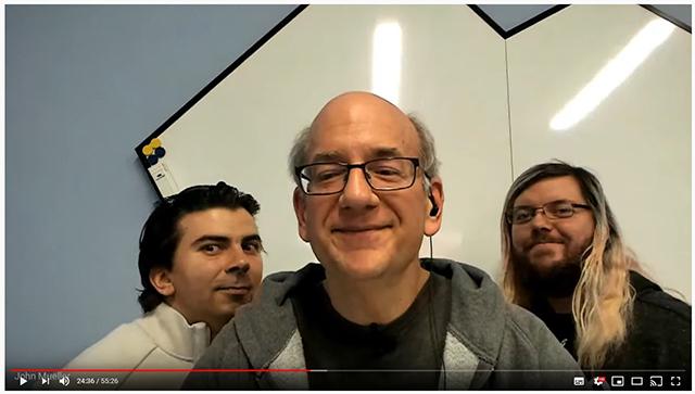 Gary Illyes & Martin Splitt Photobomb John Mueller During Hangout
