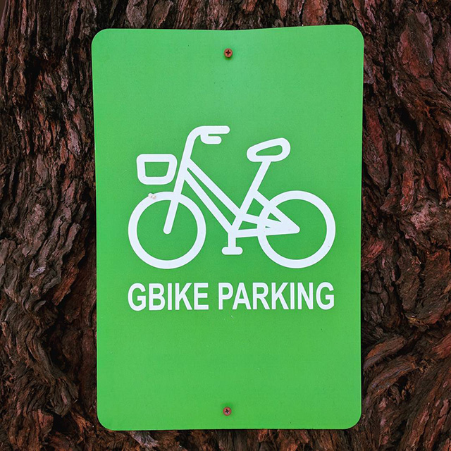 GBike Parking Sign