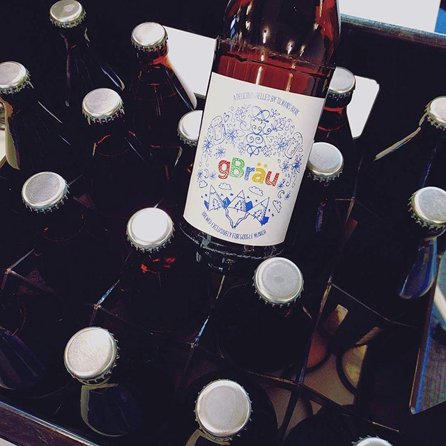 gBrau, The Custom Beer For Google Munich From Tilmans Biere