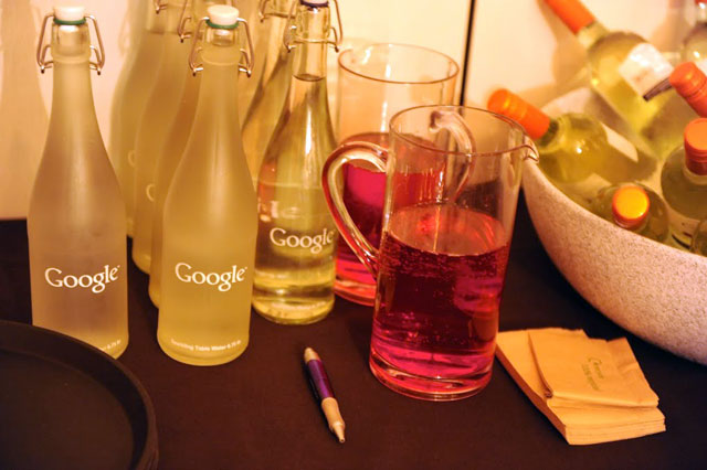 Fancy Google Water Bottle