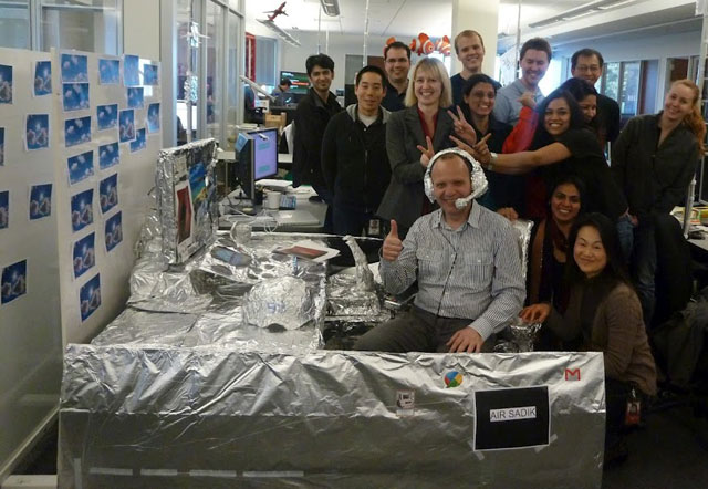Google Tinfoil Aviation Desk