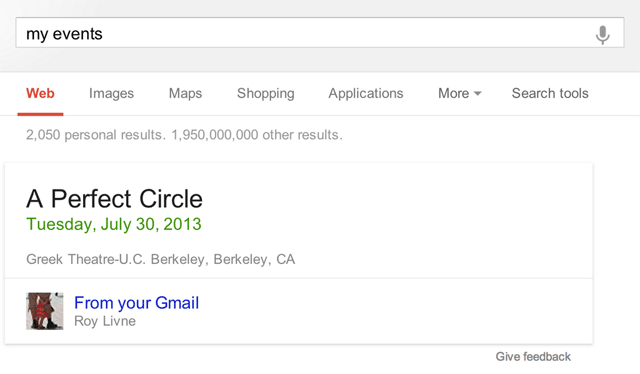 Gmail Ticket Search