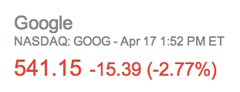 goog earnings