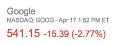 goog earnings