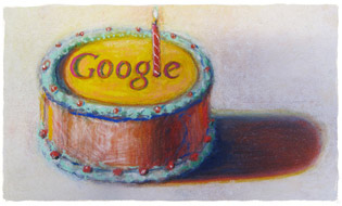 Google's 12th Birthday Logo