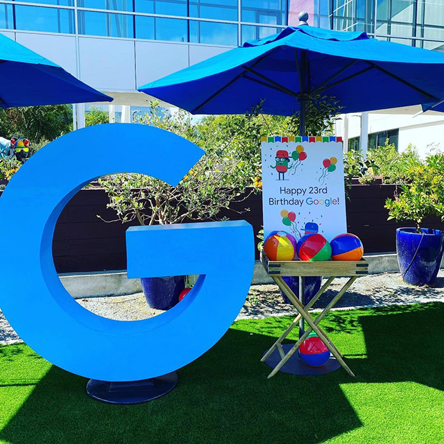 Google 23rd Outdoor Birthday Party