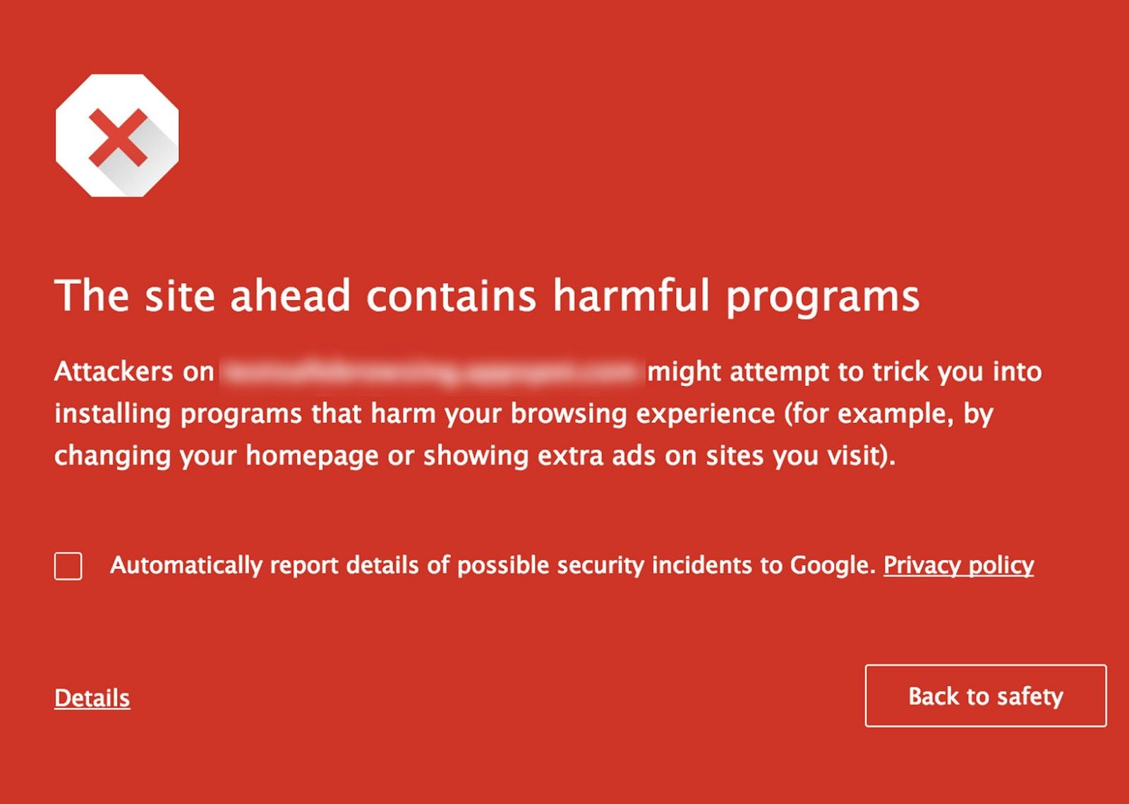 Google Tags Harmful Websites