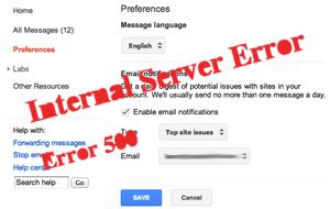 Google Webmaster Tools Notifications Bug
